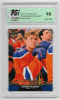 Connor McDavid 2015-16 Upper Deck Collection #CM-5 Rookie Card PGI 10 Oilers
