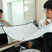 Men Beard Bib Apron Facial Hair Trimmings Catcher Cape Home Tool Shaving Cloth