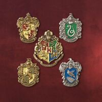 NEWEST Set of 5 pcs Harry Potter Hogwarts House Metal Pin Badge In Box FREE SHIP