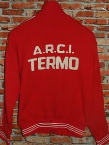 Shirt Bike Jacket Cycling Heroic Vintage 70'S Termo 50% Wool Embroidered