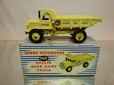 DINKY TOYS 965 EUCLID REAR DUMP TRUCK - STONE ORE EARTH 1:43?- VERY GOOD IN BOX