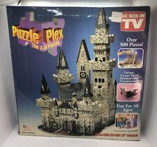 Camelot Castle Puzzle Plex 3-D Jigsaw Puzzle 500 pieces Sealed 1993