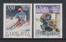 Yugoslavia - 1988, Winter Olympic Games, Calgary set - MNH - SG 2434/5
