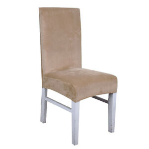 Elastic Stretch Chair Cover Seat Covers For Hotel Home Wedding Dining Room