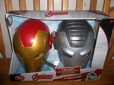 DISNEY STORE IRON MAN 2 PIECE MASK (NEW)