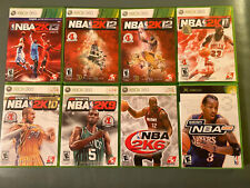 NBA 2K Lot | COMPLETE w/ Manual | TESTED | Xbox | Xbox 360 | Pick & Choose Games