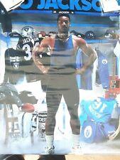 SEALED Bo Jackson Black And Blue Poster