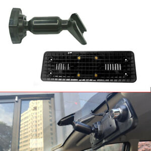 Interior Rear View Mirror Back Plate Panel +Bracket for Car DVR Instead of Strap