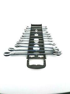 Kit Set Chiavi Combinate Inglesi A Cricchetto da 12 PZ Acciaio Chrome Vanadium