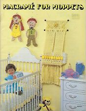 Macrame Nursery & Children's Room Decor Patterns Macrame for Moppets Book Mm331