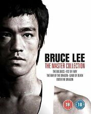 BRUCE LEE - THE MASTER COLLECTION Blu-Ray. All 5 Films. 4K Remastered.