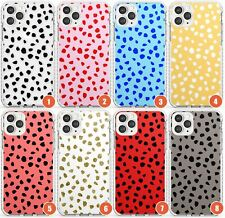 Colourful Dalmatian Spot Patterns Impact Phone Case for iPhone | Polka Dots Brig