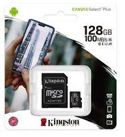 Kingston 128GB Micro SD SDHC/SDXC Class10 UHS-I Memory Card TF 100MB/s R