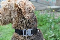 Onie Canine 'Onie' 25mm AustriAlpin Cobra Fastner Dog Collar - Police Security