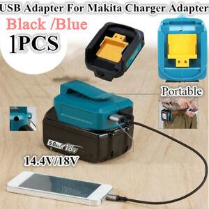 2 USB Telefonladegerät Adapter Li-Ionen-Akku Für Makita 18V 14.4V BL1830 / 1430