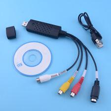 USB 2.0 Video Audio Adapter Konverter Kabel TV VHS auf DVD Für Windows 8/10