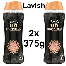 2 x 375g  Lenor Unstoppable In Wash Scent Booster - Lavish 375g each