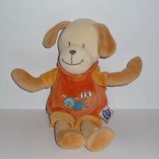 Doudou Chien Mots d'enfants - Orange
