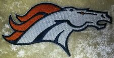 """Denver Broncos NFL 4.5"""" Horse Iron On Embroidered Patch ~USA Seller~FREE Ship!"""
