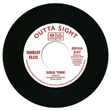 "SHIRLEY ELLIS  ""SOUL TIME""   MONSTER 60's CLUB CLASSIC / NORTHERN SOUL"