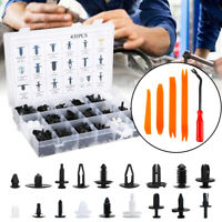 435PCS Car Retainer Clips Push Pin Rivets Set Door Trim Panel Clip Fasteners/T5