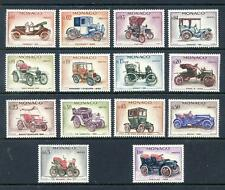 Cars Monacan Stamps