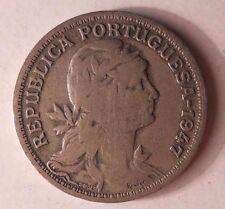 1947 Portugal 50 Moneda - Coleccionable Vintage Moneda - Ganga Bin #51