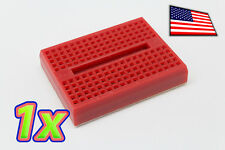 [1x] Red 170 Point Solderless PCB Mini Breadboard SYB-170 Adhesive Back