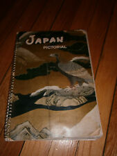 Japan Pictorial Japan Travel Bureau 1955 Post WWII Book