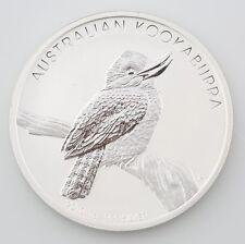 2010 Australia Australian .999 1 oz Silver Kookaburra $1 Dollar Coin Round BU