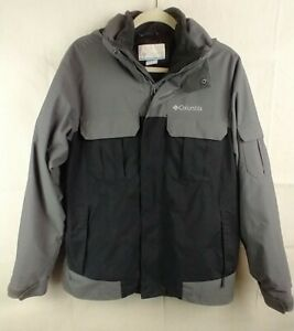 Columbia Nylon Insulated Jacket Full Zip Coat RN 69724 CA 05367 Mens Size Medium