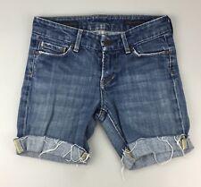 Women's 25 (Msr 28x6) Citizens of Humanity Stretch Low Waist Cut Off Jean Shorts