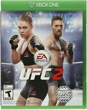 EA Sports UFC 2 Xbox One EXCELLENT CONDITION SHIPS FAST W CASE & GAME