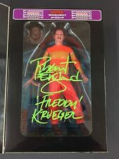 Robert Englund Signed Freddy Krueger A Nightmare On Elm Street NES Figure PROOF