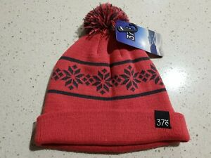 SLED kids BEANIE pink claret 37 DEGREE SOUTH BNWT new with tags Girls ANACONDA