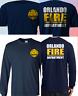 New ORLANDO Florida Firefighter Fire Department Fire Rescue Navy T-Shirt S-4XL