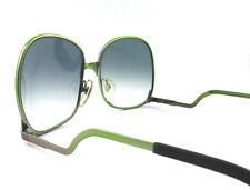 occhiali da sole Luxottica vintage donna 773 colore oro sfumato verde