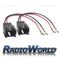 Peugeot 206 & Citroen Speaker Adaptor Lead Loom Connectors PC2-821 Pair