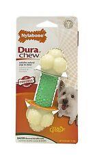 Nylabone Dura Chew Regular Bacon Flavored Double Action Bone Dog Chew Toy