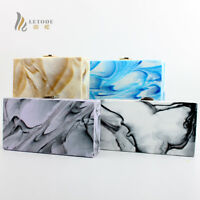 Women's Handbag Purse Acrylic Shoulder Crossbody Evening Clutch Bag Wallet Totes