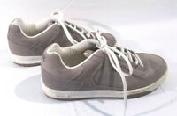VANS Emory 47964 Gray-Tan  Suede Lace Up Skateboard Skate Shoes Sz 9 1/2