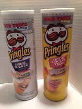 Pringles Food truck Cheese Burger & Kickin' Chicken Taco 5.96 oz Potato Crisps