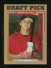 2005 Jay Bruce (RC) Topps Gold  #0954/2005 Reds/Mets