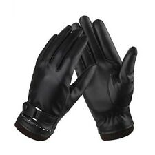 Winter Women Warm Leather Gloves Outdoor Sports Cold Weather Driving Touchscreen