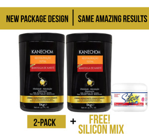 Kanechom shea butter  Karite  33.8  allt types of  hair  2 + 1 silicon mix  free