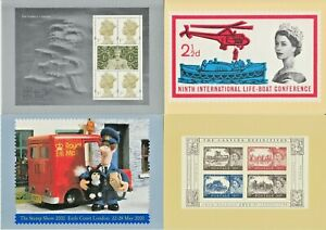 GB Definitive PHQ Cards  and Museum Postal Interest Cards Mint & Used