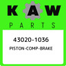 43020-1036 Kawasaki Piston-comp-brake 430201036, New Genuine OEM Part