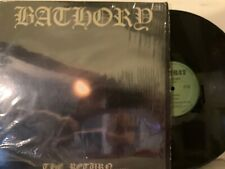 Bathory - The Return - LP 1985 Orig Combat ‎MX 8041 EX in Shrink w/ Inners RARE!