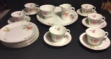 Vintage 21 piece Arabia Finland 1949-1964 Breakfast Set, RARE pattern
