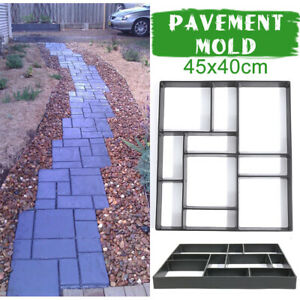 Pavement Mold Road Path Molded Concrete Cement Brick  Maker Floor Mould  A A